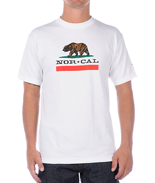 Nor Cal Republic White T-Shirt