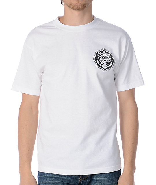 Nor Cal Safe Harbor White T-Shirt