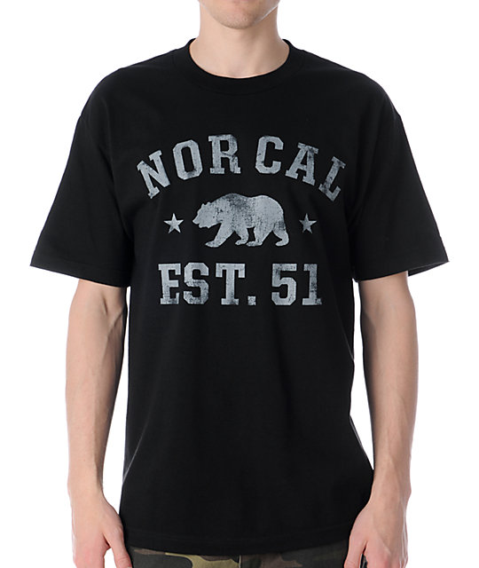 Nor Cal Sophomore Black T-Shirt