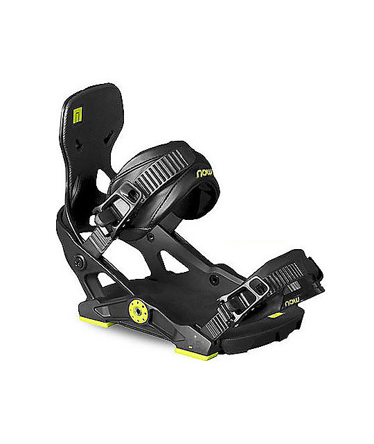 Now IPO Black Snowboard Binding