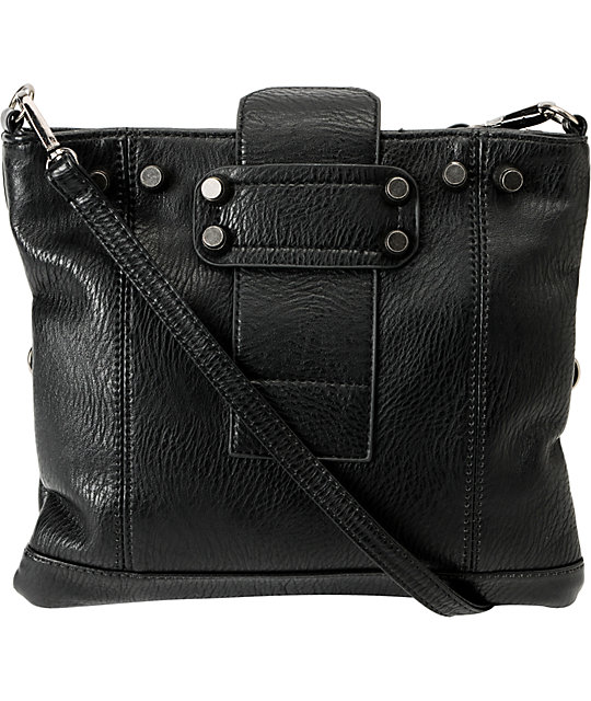 Nu-G Black Crossbody Clutch Purse