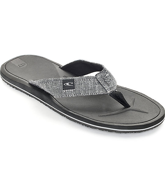 O'Neill Nacho Libre Dark Charcoal Sandals