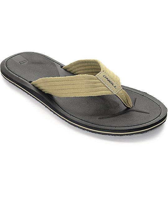 O'Neill Nacho Libre Khaki Sandals