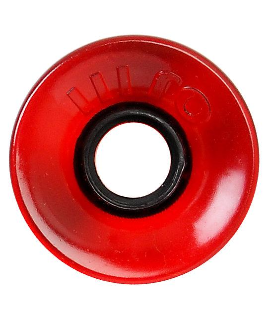 OJ III 60MM Translucent Red Hot Juice Skateboard Wheels
