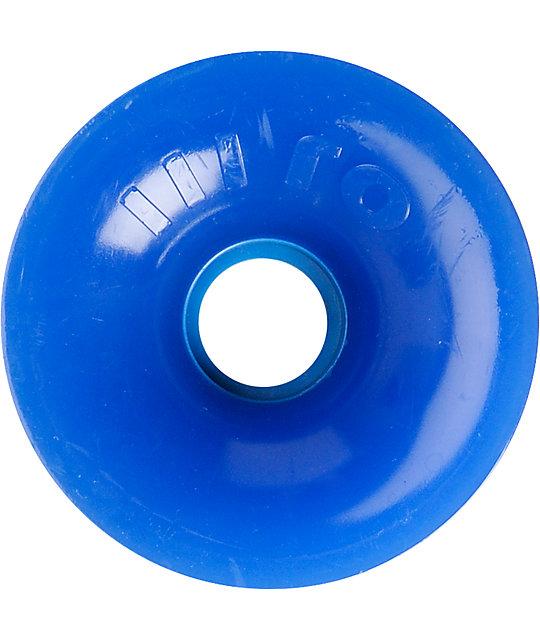 OJ III 75mm Blue Thunder Juice Longboard Wheels