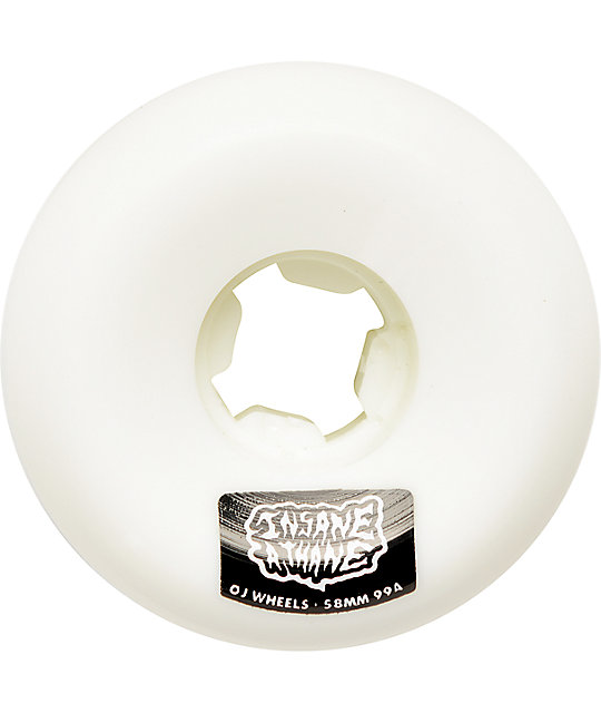 OJ Insaneathane 58mm Hard Line Skateboard Wheels
