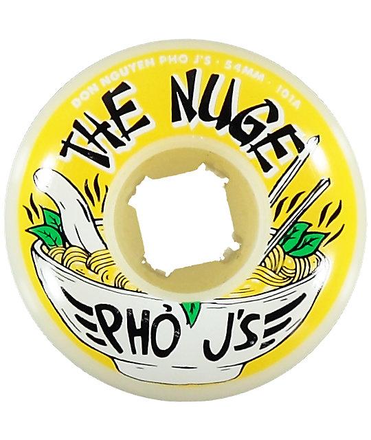 OJ Nuge Pho Js EZ Edge 54mm Skateboard Wheels