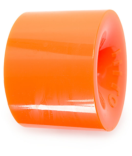 OJ Thunder Juice 75mm Orange Longboard Wheels