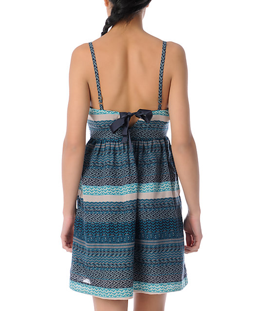 ONeill All The Lights Dress in Navy