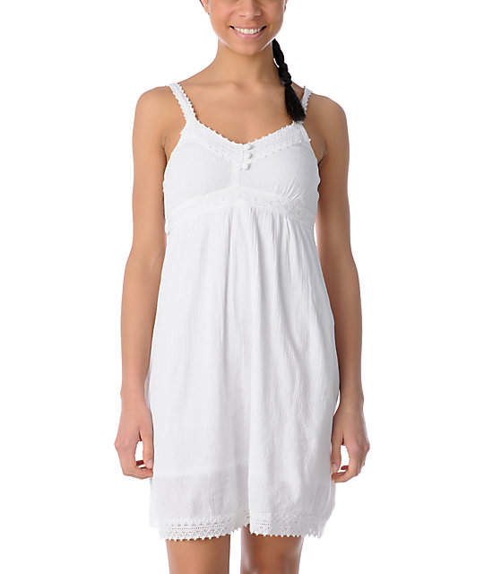 ONeill Honalula White Gauze Dress