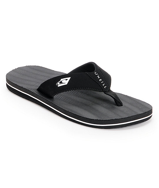 ONeill KooshN 2 Black & Black Sandals