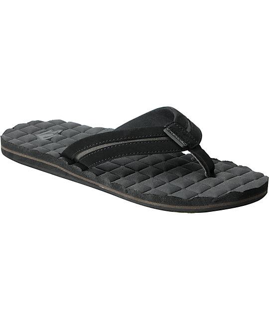 ONeill Kooshn Squared Black Sandals