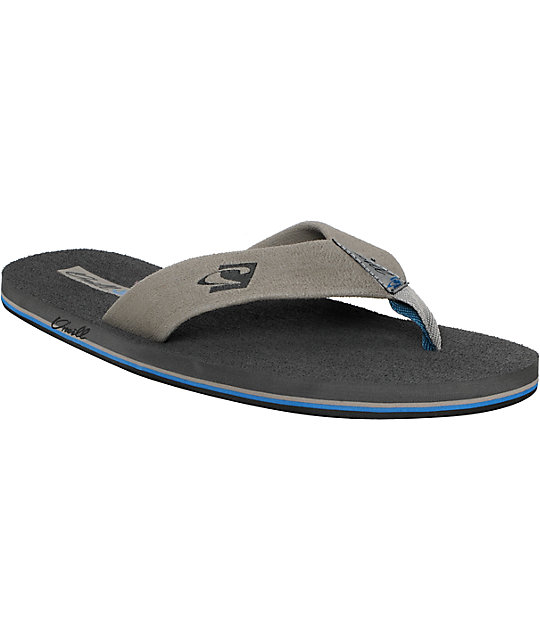 ONeill Phluff Daddy Grey Sandals