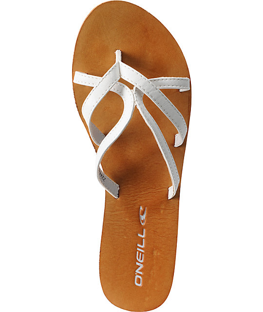 ONeill Sorbet White Sandals