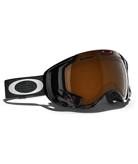 Oakley Airwave 1.5 Silver Text GPS 2014 Snowboard Goggles
