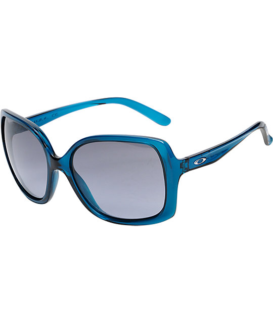 Oakley Beckon Crystal Turquoise Sunglasses