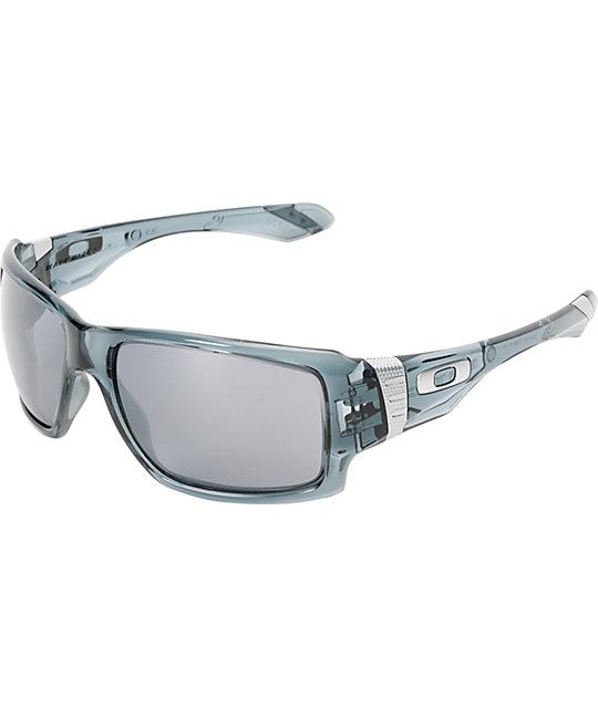 Oakley Big Taco Crystal Black & Black Iridium Sunglasses