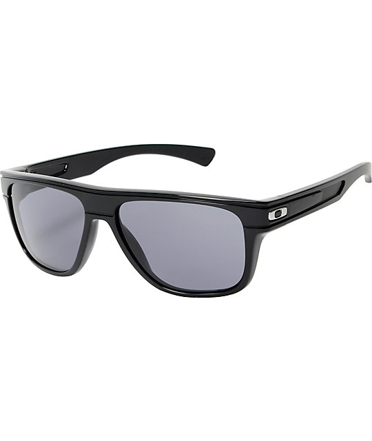 Oakley Breadbox Black Polarized Sunglasses