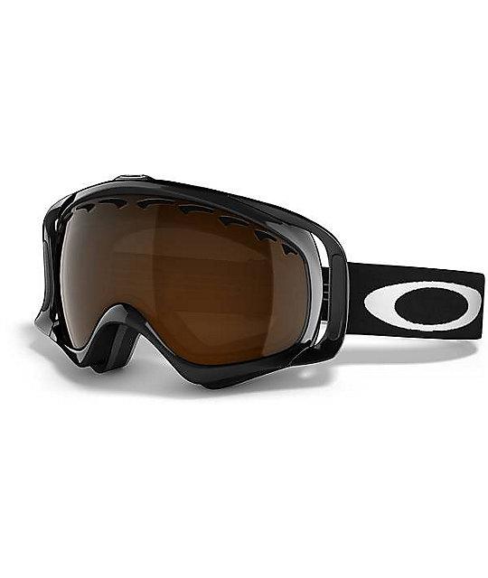 Oakley Crowbar Jet Black Iridium Snowboard Goggles