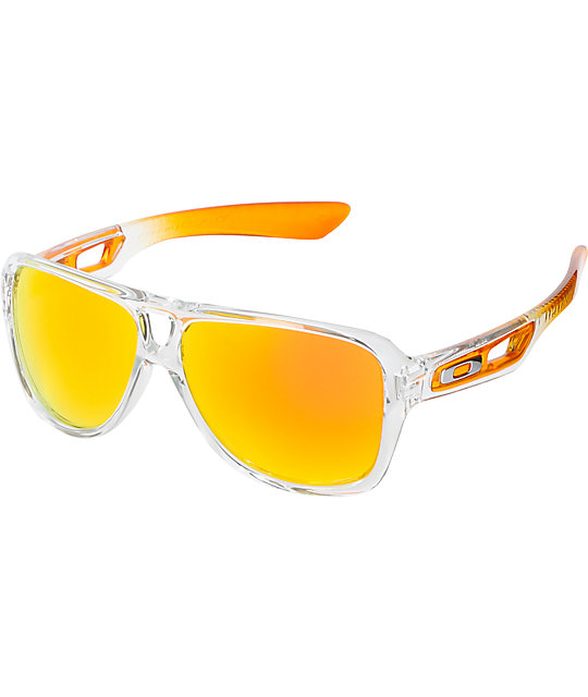 Oakley Dispatch II Persimmon Fade & Fire Iridium Sunglasses