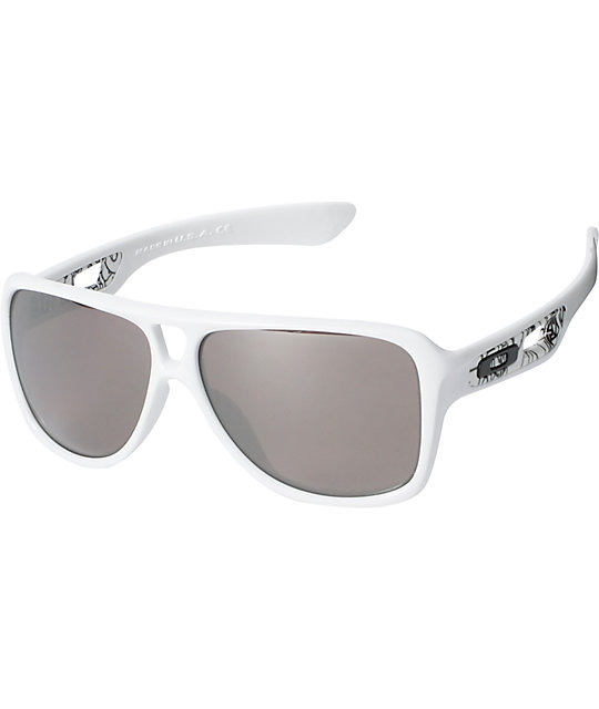 Oakley Dispatch II Polarized White Sunglasses