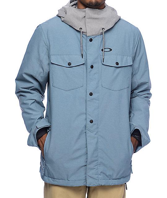 Oakley Division BZI 10K Blue Mirage Snowboard Jacket