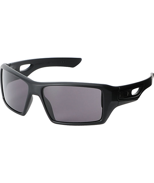 Oakley Eyepatch 2 Matte Black & Grey Sunglasses