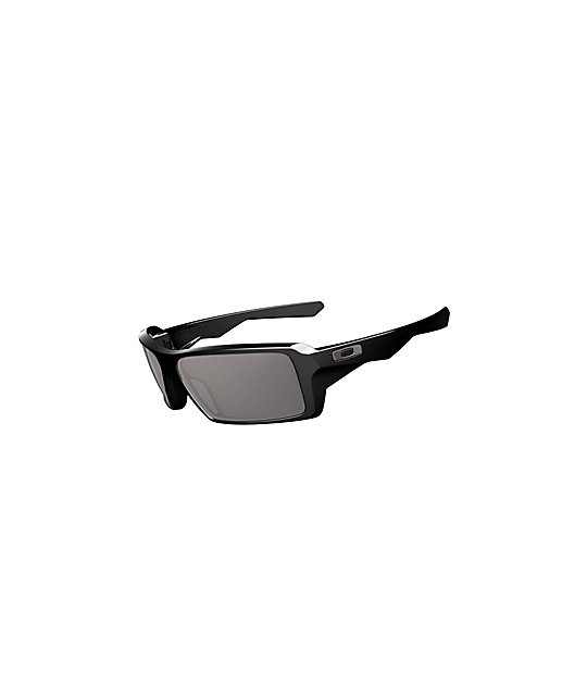 oakley sunglasses zumiez  oakley eyepatch black & warm grey sunglasses