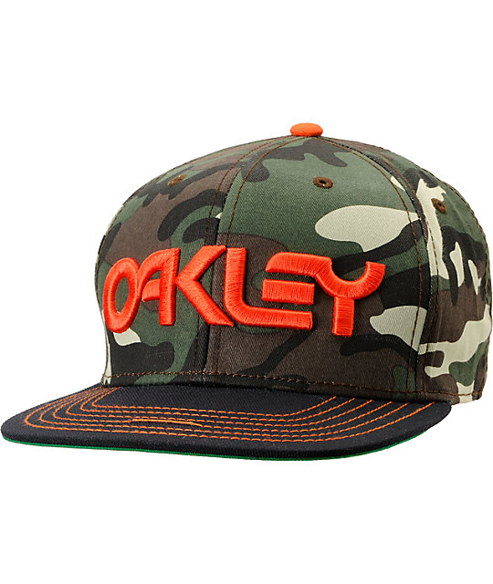 Oakley Factory O-Justable Camo Snapback Hat