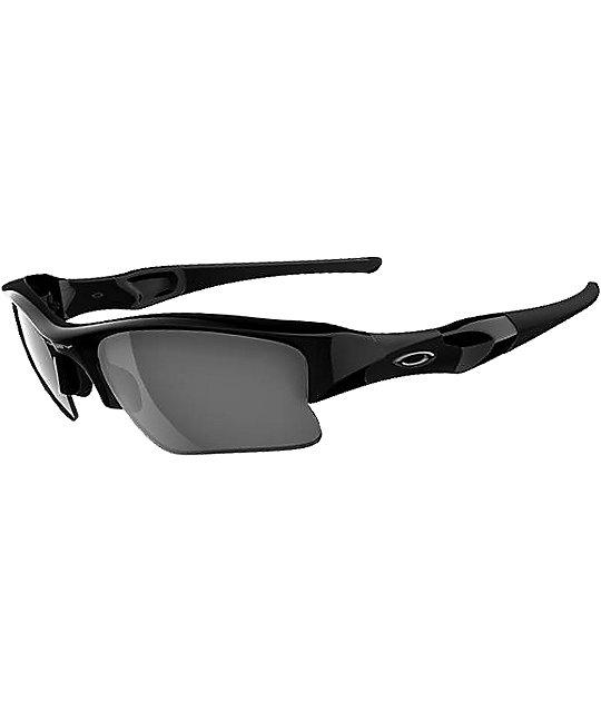 Oakley Flak Jacket XL Jet Black & Black Iridium Sunglasses