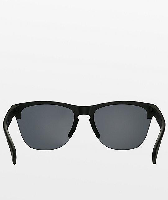 968f9f36c12 Oakley Frogskins Lite Matte Black Sunglasses