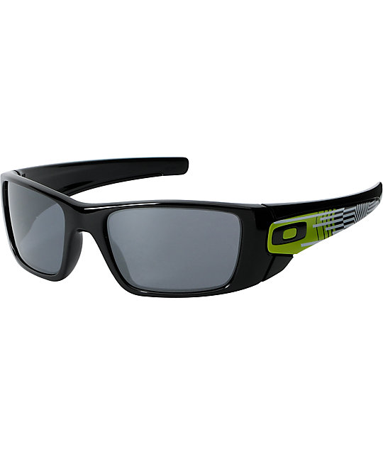 Oakley Fuel Cell Deuce Coupe LTD Black & Sulfur Sunglasses