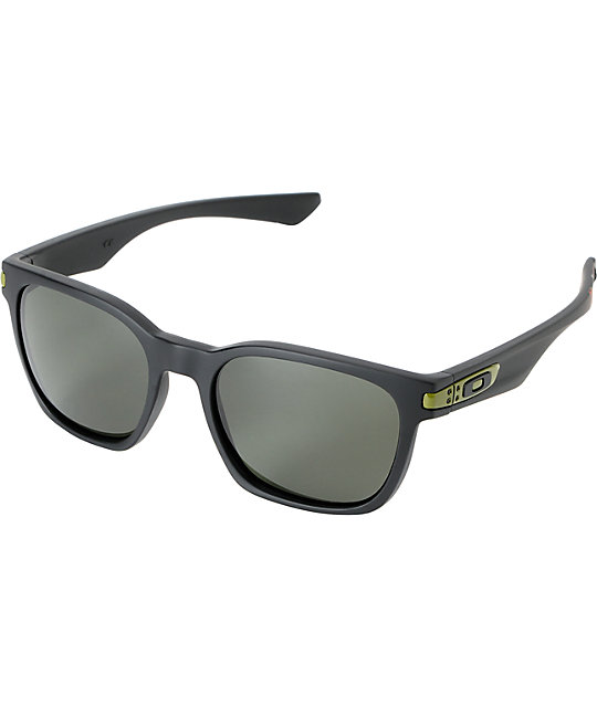 oakley sunglasses zumiez  oakley garage rock ryan sheckler ss matte black sunglasses