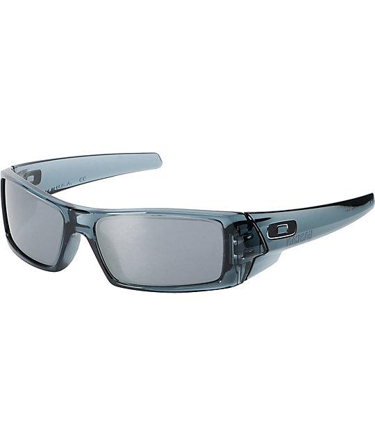 black oakley gascan sunglasses 8y0n  Oakley Gascan Black & Black Iridium Sunglasses