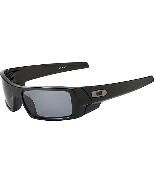 Oakley Gascan Black Polarized Sunglasses