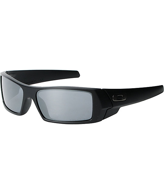Oakley Gascan Matte Black Polarized Sunglasses