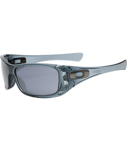 oakley sunglasses zumiez  oakley hijinx crystal black sunglasses