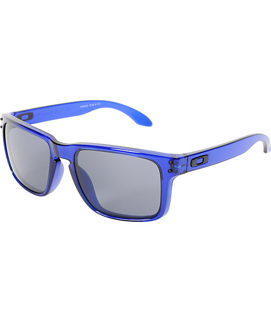 Oakley Holbrook Crystal Blue Sunglasses