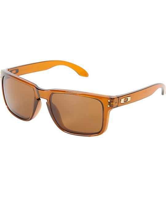 Oakley Holbrook Dark Amber Sunglasses