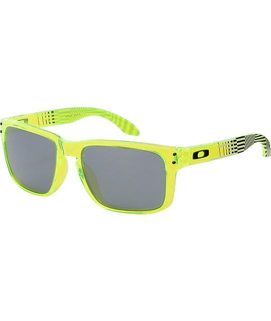 Oakley Holbrook Deuce Coupe LTD Sulfur Sunglasses