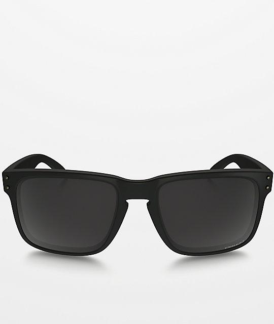 oakley holbrook matte black prizm polarized
