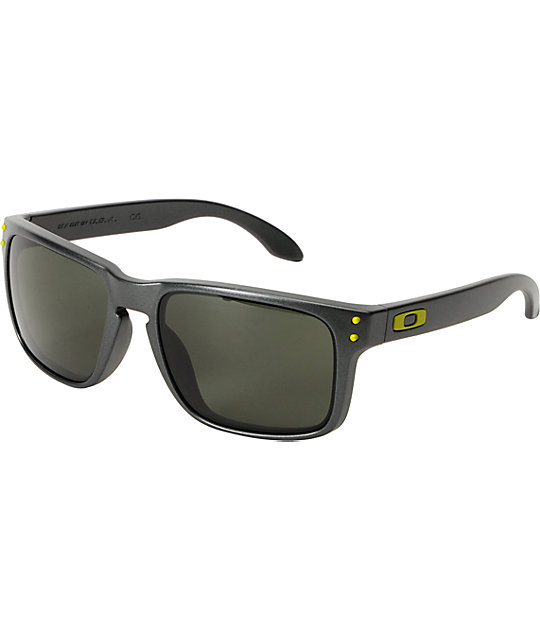 a5a551fa4c Oakley Holbrook Steel   Dark Grey Sunglasses