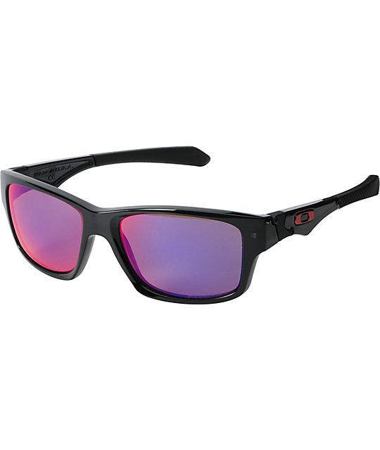 Oakley Jupiter Squared Black Polarized Sunglasses