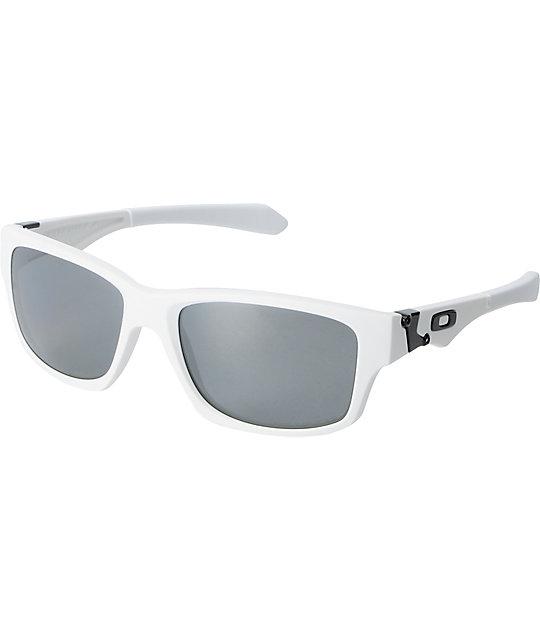 Oakley Jupiter White Polarized Sunglasses