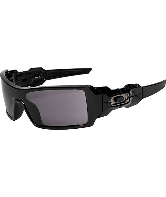 Oakley Oil Rig Polished Black Sunglasses