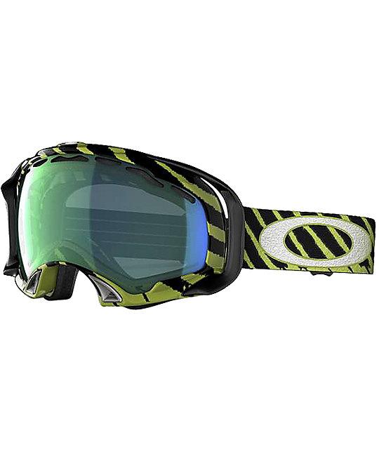 Oakley Shaun White Splice Mint & Emerald Snowboard Goggles