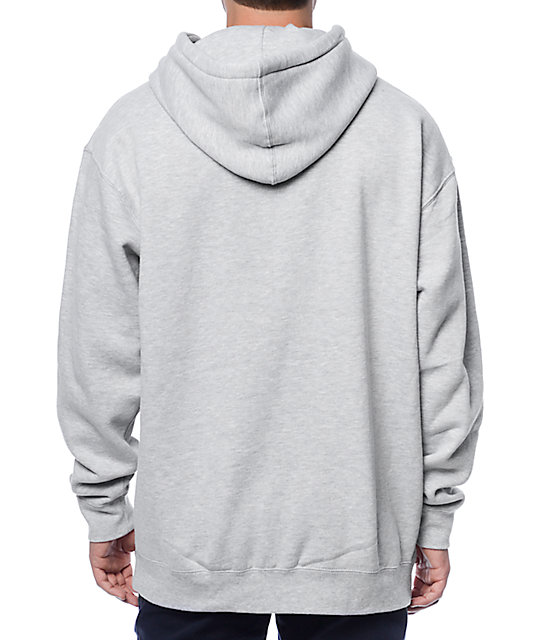 Obey Afton Heather Grey Hoodie
