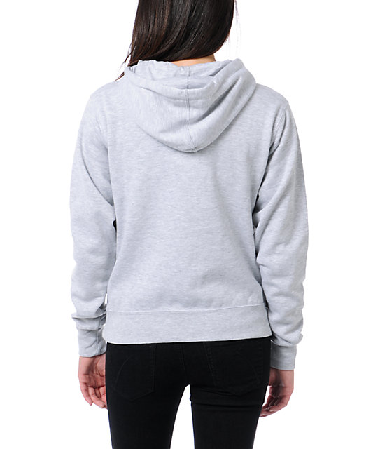 Obey Army Heather Grey Pullover Hoodie