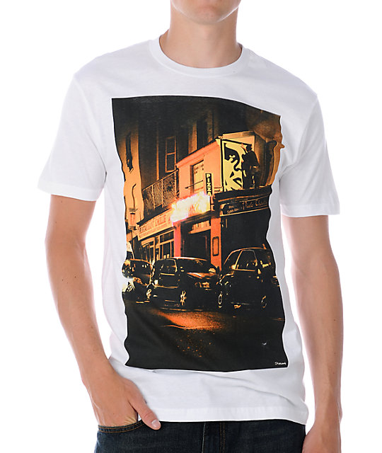 Obey Bombs Away White T-Shirt