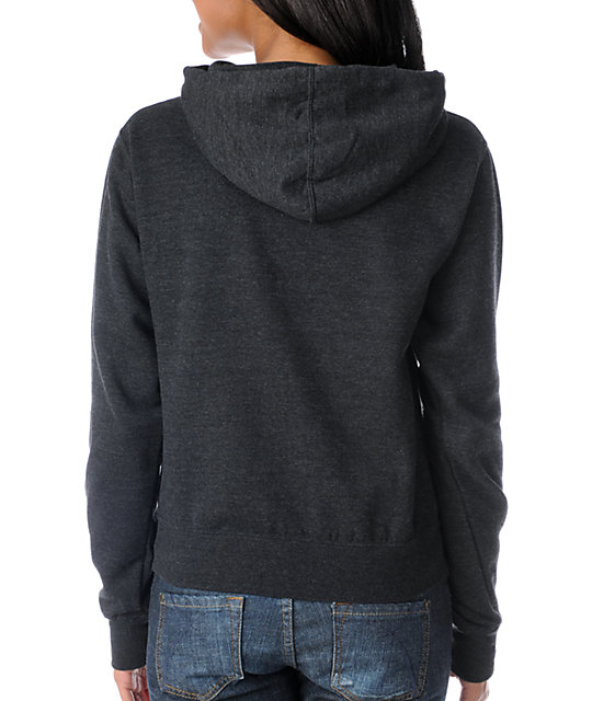 Obey Bootleg Charcoal Pullover Hoodie
